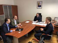 Susitikimas su Nacionalinio visuomenės sveikatos centro (NVSC) direktoriumi Robertu Petraičiu