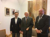 Su Lietuvos žaliojo aljanso globėju prezidentu V. Adamkumi aptartos perspektyvinės veiklos gairės